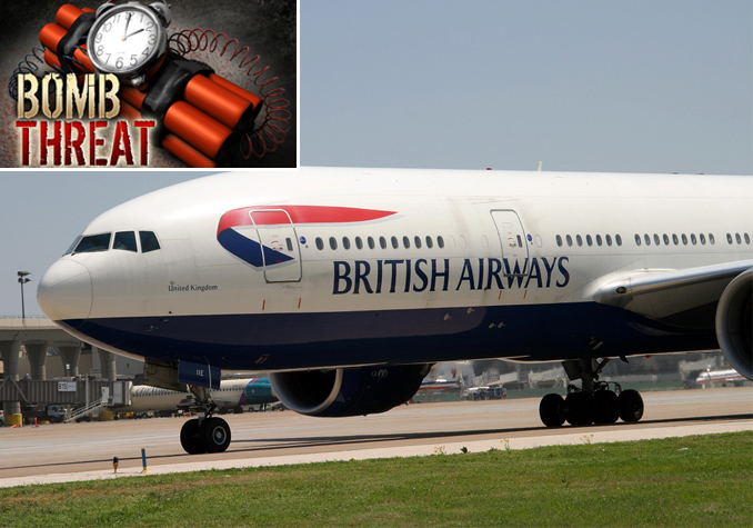 Heathrow to Dubai Received a Bomb Threat