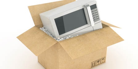 Send Microwave to Pakistan, air or sea shipping from UK